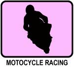 Motocycle Racing (pink)