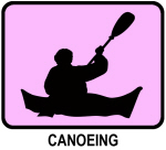 Canoeing (pink)