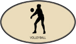 Womens Volleyball (euro-brown)