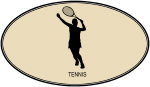 Womens Tennis (euro-brown)