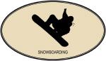 Snowboarding (euro-brown)