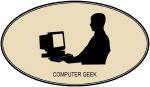 Computer Geek (euro-brown)