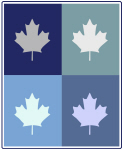 Canadian (blue boxes)