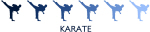 Karate (blue variation)