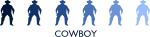 Cowboy (blue variation)