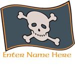 Personalized Pirate Flag