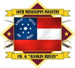 10th Mississippi -Rankin Rifles