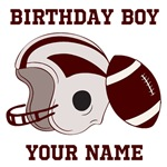 Birthday Boy Football