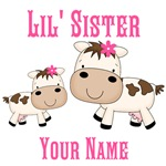 Little Sister Cute Cow
