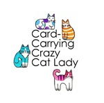 CARD-CARRYING CRAZY CAT LADY COLLECTION
