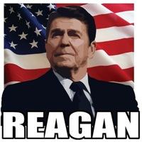 Ronald Reagan w/ Old Glory