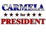 CARMELA for president