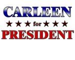 CARLEEN for president