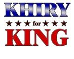 KHIRY for king