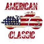 Painted American Flag