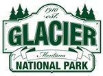 Glacier National Park Green Mountain