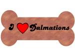 I LOVE DALMATIONS