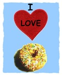 I LOVE DONUTS