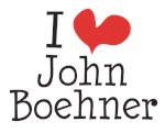 I heart John Boehner and More T-Shirts and Gifts