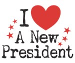 I heart (love) a New President