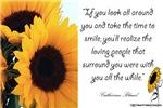 Sunflower Quote Design
