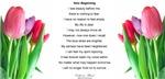 New Beginning Poem Design