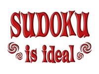 <b>SUDOKU IS IDEAL</b>
