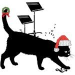 MUSIC ROOM CAT -- CHRISTMAS