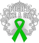 Cerebral Palsy Fight Like A Girl Deco Shirts