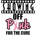 Showing Off Pink Breast Cancer T-Shirts & Gifts
