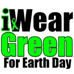 I Wear Green For Earth Day Shirts & Gifts