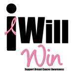 Breast Cancer: I Will Win T-Shirts