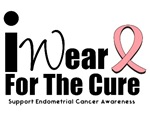Endometrial Cancer (For The Cure) T-Shirts