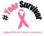 Breast Cancer Commemorate Survivorship T-Shirts