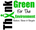 Think Green For The Environment T-Shirts & Gifts