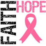Faith Hope Breast Cancer T-Shirts & Gifts