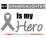 Brain Cancer Hero (Granddaughter) T-Shirts & Gifts