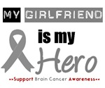 Brain Cancer Hero (Girlfriend) T-Shirts & Gifts