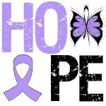 Hope Butterfly Cancer & Disease Awareness Shirts