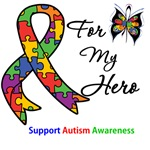 Autism Support Hero Shirts & Gifts