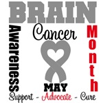 Brain Cancer Awareness Month T-Shirts & Apparel