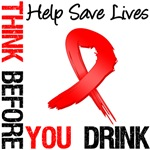 Think Before You Drink Awareness Banners, Signs & 