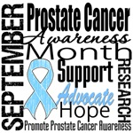 Prostate Cancer Awareness Month Tribute T-Shirts
