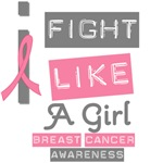 I Fight LIke A Girl Breast Cancer Tees