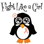 Uterine Cancer Fight Like A Girl Shirts & Gifts