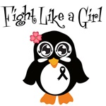 Skin Cancer Fight Like A Girl Shirts & Gifts