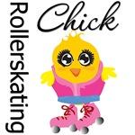 Rollerskating Chick