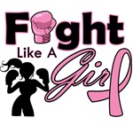 Breast Cancer Fight Like A Girl Boxer