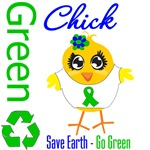 Save Earth Go Green Chick