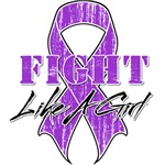 Crohn's Disease Fight Ribbon